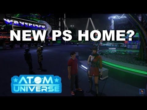 NEW PS HOME PS4 - DEMO GAMEPLAY PREVIEW