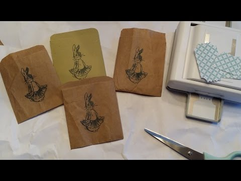 DIY - Paper Coin Envelopes | Ticket Punch Review