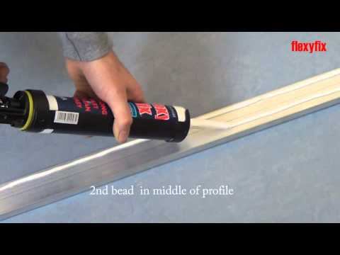 FlexyFixing a stair nosing in 90 seconds