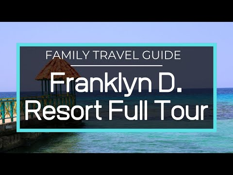 Franklyn D Resort - Complete Resort and Facilities Tour, Restaurants, Beaches, Watersports, Kids