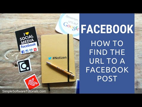 Tutorial: How to Find the URL to a Facebook Post