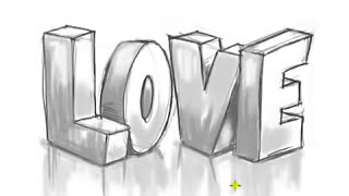 #x202b;رسم كلمة Love جااااااااااااامدة#x202c;lrm;
