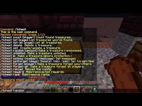 Minecraft Plugins #1: Treasure Chest
