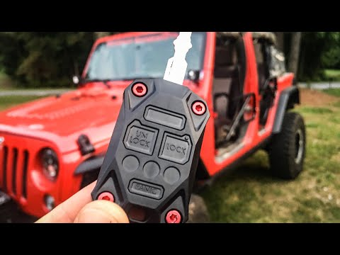 Jeep Key Upgrade!  **GIVEAWAY**