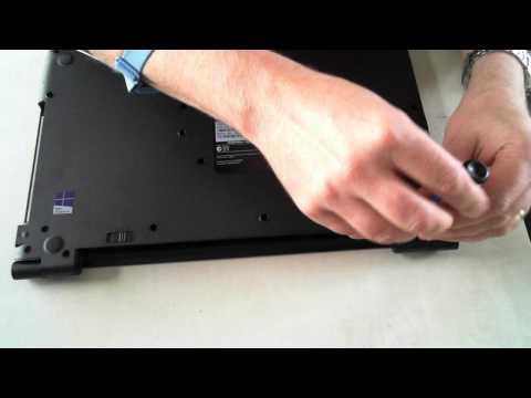 Toshiba Satellite Pro R50-B Teardown
