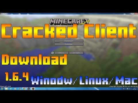 Minecraft 1.6.4 Cracked Client for Windows/Linux/Mac