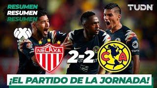 Resumen y goles   Necaxa 2 - 2 América   Liga Mx - AP 19 - J14   TUDN