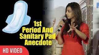 Radhika Apte On Her First Period And Sanitary Pad Anecdote | Aaj Se Teri | Padman