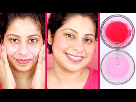 In 10 Days Get Fair Skin & Rosy Pink Cheeks Naturally At Home || गुलाबी त्वचा पाए