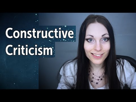 Constructive Criticism | How to Take It