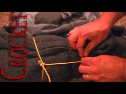 Attaching to Molle Straps with Cordage
