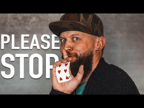 Why do Magicians do this?!