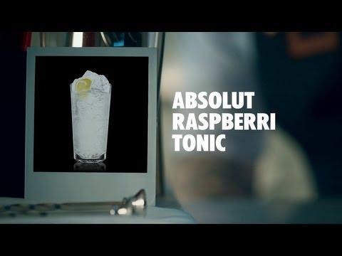 ABSOLUT RASPBERRI TONIC DRINK RECIPE - HOW TO MIX