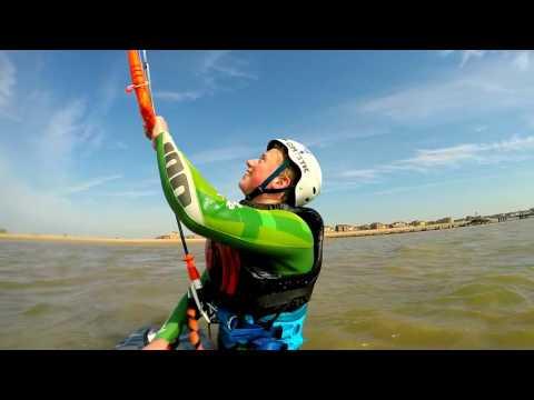 Kitesurfing Board Starts - Martello Bay, Clacton, Essex
