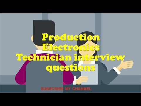 Production Electronics Technician interview questions
