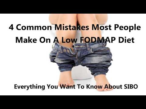 4 Mistakes People Make On A Low FODMAP DIET| SIBO Diet