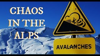 AMAZING PICTURES of Snow Chaos in the Alps, AVALANCHE -People Missing, Stranded Tourists GSM UPDATES