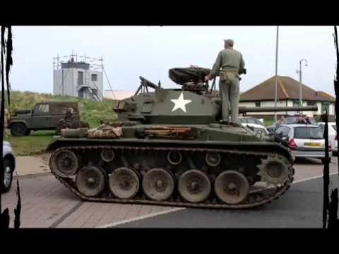 Tank attack blyth beach