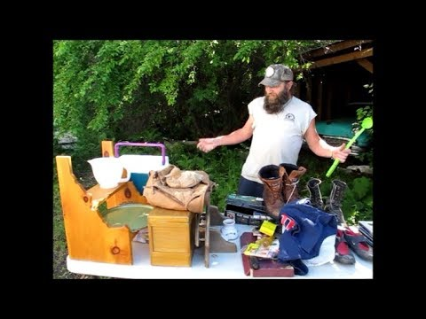 MOUNTAIN JUNKERS YARD SALE FINDS & SCORES !
