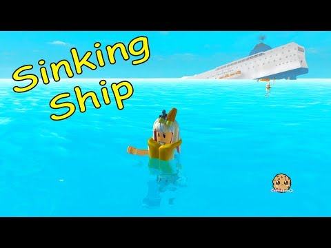 Flood? Sinking Ship? Can I Survive The Crazy Disaster? Cookie Swirl C Roblox Game Play