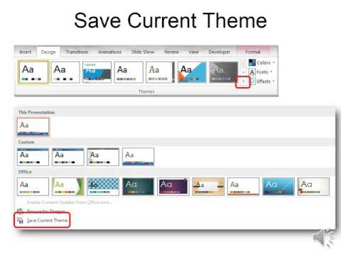 PPT Changing Design Themes