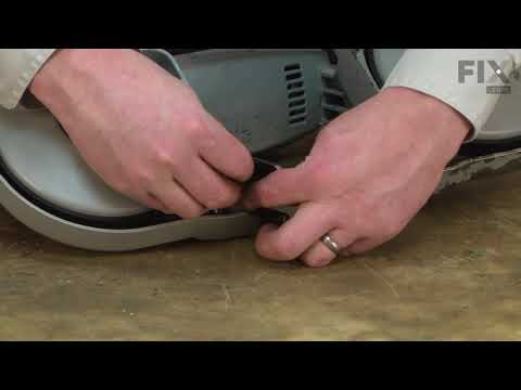 Milwaukee Band Saw Repair - How to Replace the Rear Blade Guide Block