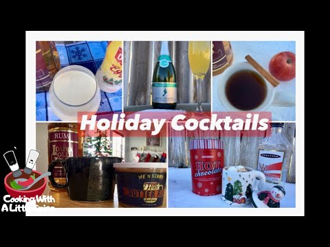 My Top 5 Favorite Holiday Cocktails