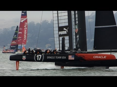America's Cup: Louis Vuitton Cup: Round Robin 4-3: New Zealand by Forfeit, 27 July 2013