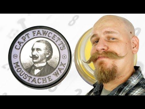 Captain Fawcetts Mustache Wax