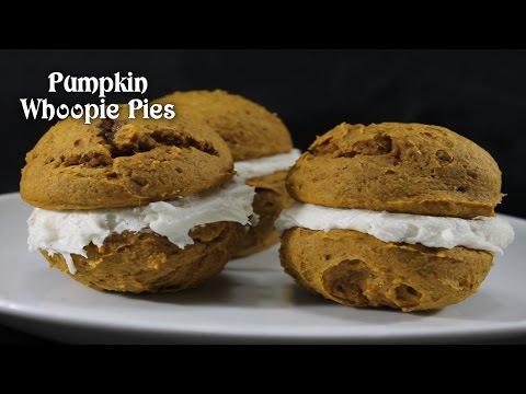 Pumpkin Whoopie Pies ~ Thanksgiving Dessert Idea