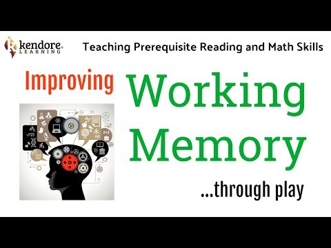 Improving Working Memory Through Play