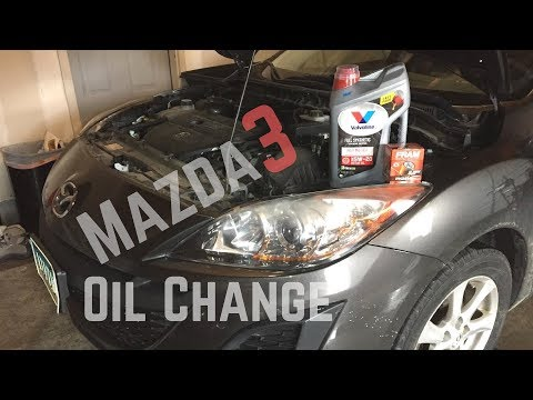 Easy Mazda 3 Oil Change