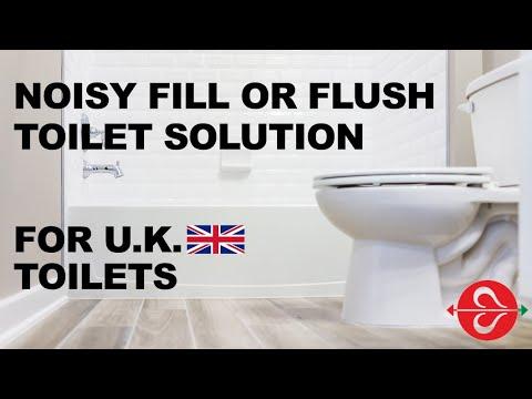 TOILET PROBLEM – NOISY FLUSH