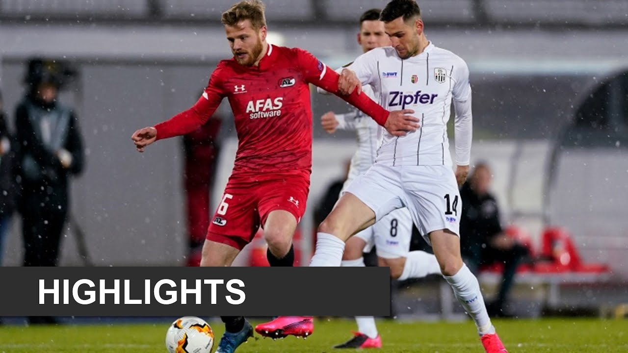 Highlights LASK - AZ   Europa League