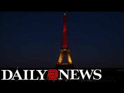 Global landmarks light up in Belgian colors