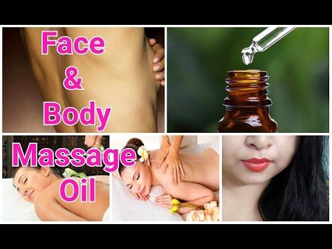 DIY Face & Body Massaging Oil | Get Silky,Soft,Smooth Skin Naturally | Srestha Ghose