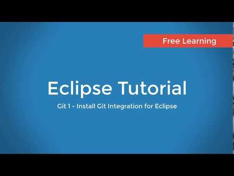 Git 1 : Install EGit - Git Integration for Eclipse
