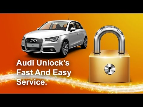 How To Find Your Audi Radio Code Serial Unlock All Models