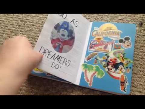 Blue dream journal flip through