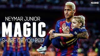 Neymar Skills ▶ Invisible - Shape Of You ● Crazy Skills & Goals 2017 | HD