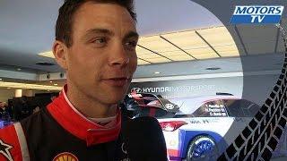 Interview Hayden Paddon - Huyndai World Rally Team