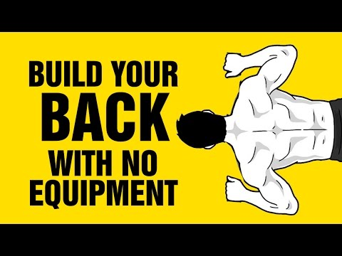 Build a Strong Back With NO Equipment at Home - Bodyweight Back Workout
