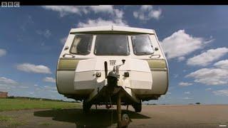 Fastest Caravan Challenge pt 1 - Top Gear - BBC