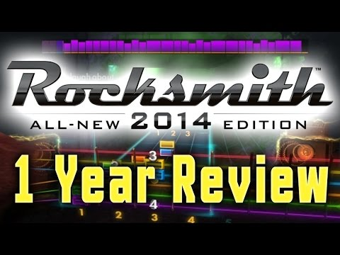 Rocksmith 2014, 1 Year Review