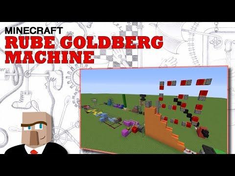 Minecraft Rube Goldberg Machine - The Dragon Jaw Flapper