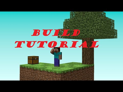 Skyblock Tutorial   How to make a SkyBlock map   Minecraft 1.8+ No Mods