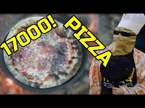 BAKING A PIZZA IN THE FOREST! - 17000 Subscriber Special!