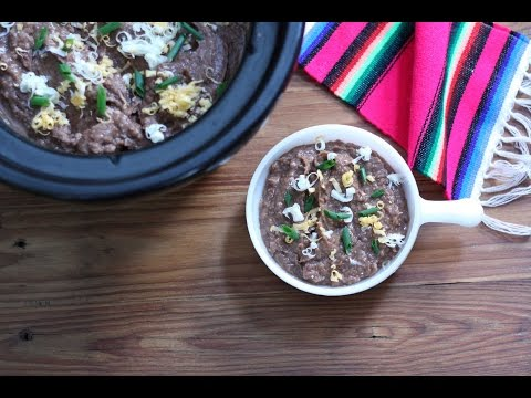 How to Make Slow Cooker Refried Beans