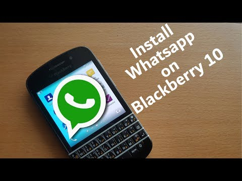 How to get Whatsapp on Blackberry 10(After June 2017)