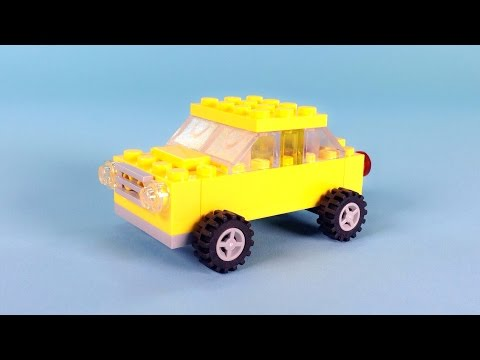 Lego Remote Controlled Car Building Instructions Lego Classic